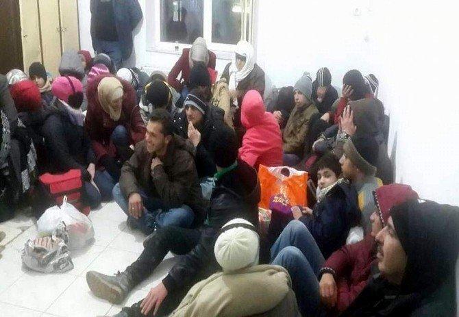 Aydın'da 376 Göçmen Yakalandı