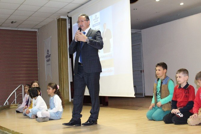 """""""Hadisler Işığında İslam Dininde Kardeşlik"""" Konferansı"""