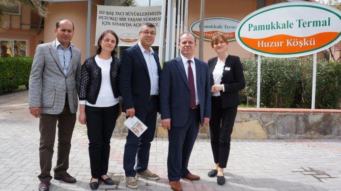 Pamukkale'de yaşlılar için otel açıldı
