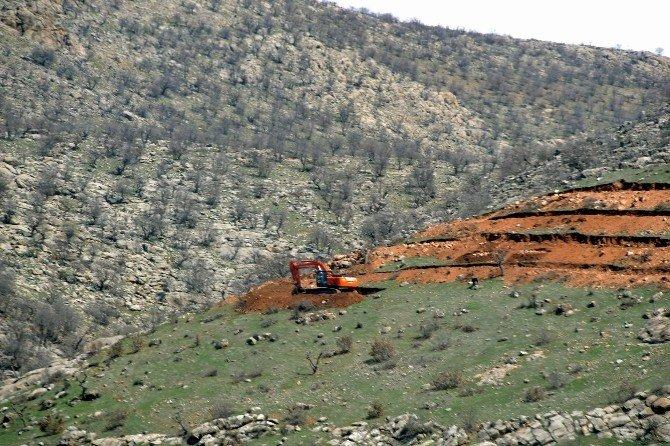 Siirt'te Dağlık Alanlar Fıstık Bahçelerine Dönüştürüldü