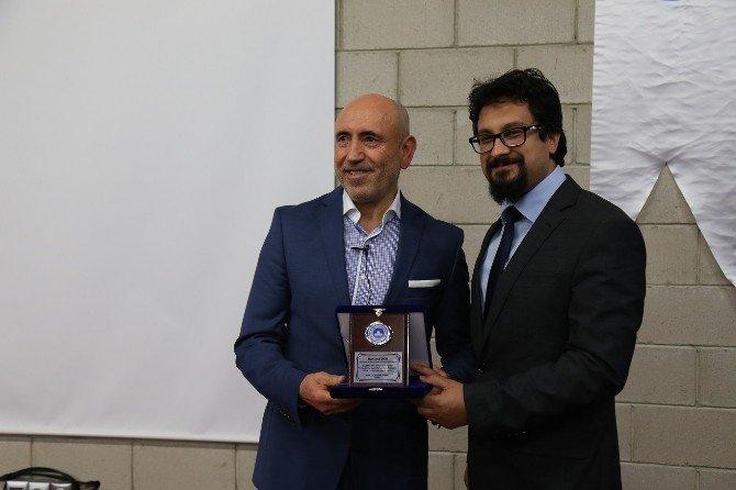 """Lüleburgaz Meslek Yüksekokulu'nda """"Girişimcilik"""" Konulu Söyleşi"""