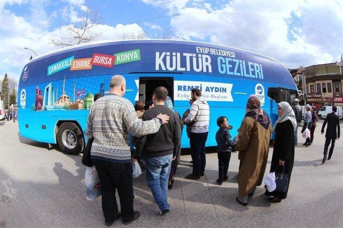 Eyüp Belediyesi Gezi Programları Nisan'da Başlıyor