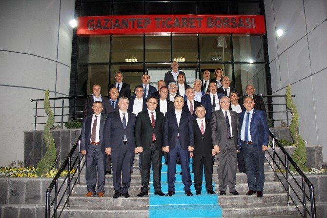 Gtb Meclisi, Vali Yerlikaya'yı Ağırladı