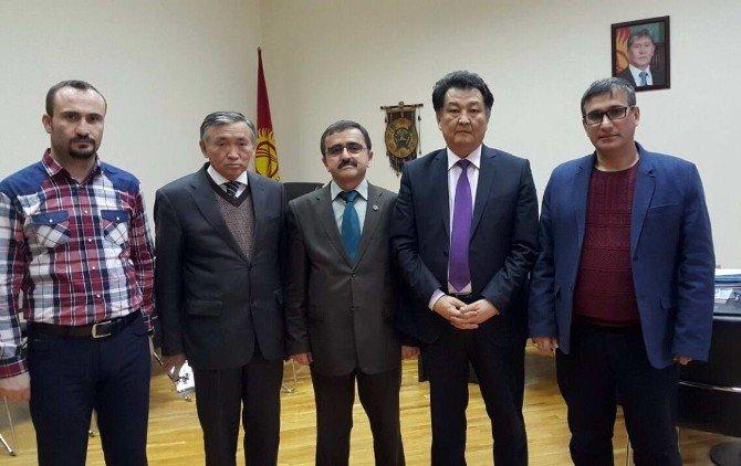 GAÜN Heyeti Kırgızistan'da