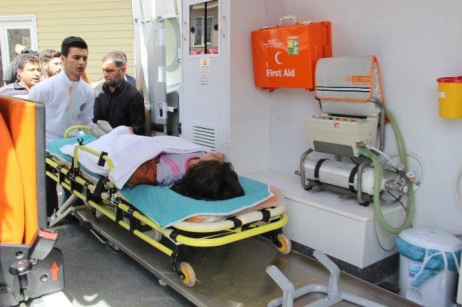 11 Yaşındaki Çocuk Elini Makineye Kaptırdı
