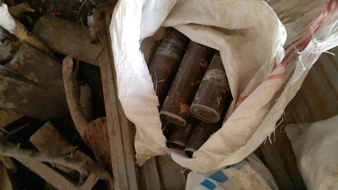 Yüksekova'da 2 Havan Ve 108 Mühimmat Ele Geçirildi