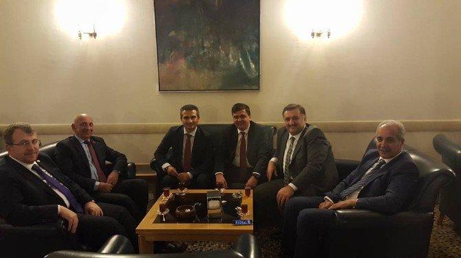 Başkan Yalçın'ın Ankara Ziyaretleri