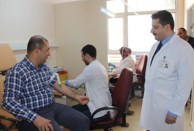Çorum Eğitim Ve Araştırma Hastanesi'ne Yeni Kan Alma Birimi