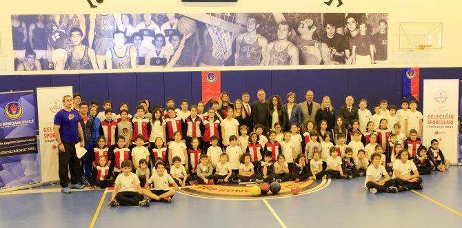 TED Rönesans Koleji'nden 'Geleceğin Sporcuları'na destek