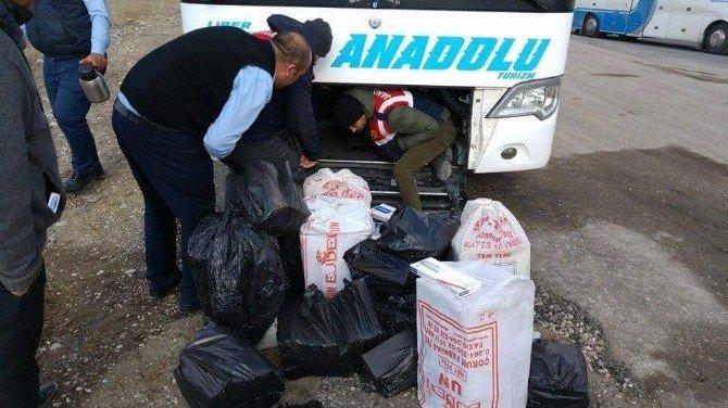 Jandarma'dan Kaçakçılara Geçit Yok