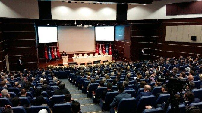 Mehmet Özhaseki, Genişletilmiş İl Başkanları Toplantısı'nda Sunum Yaptı