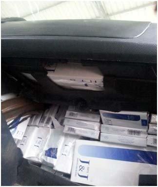 3 Bin 400 Paket Kaçak Sigara Yakalandı