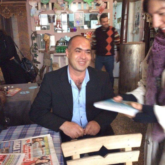 Ayvalık Aşkı Gurme Yazarı Cenk Geçermiş'in Kitabına Yansıdı