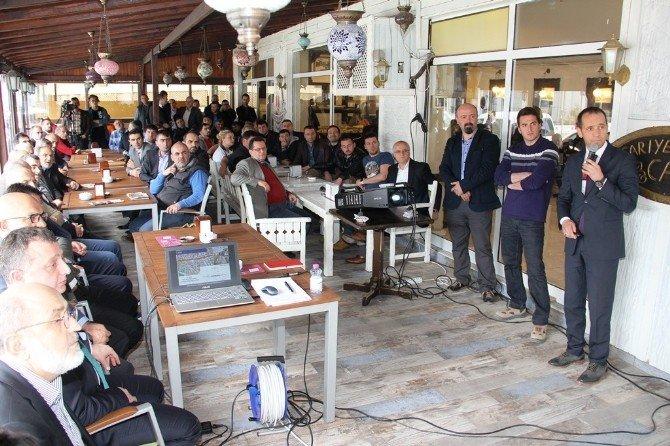 Büyükşehir Genel Sekreteri Tramvay Çalışmalarını Esnafa Anlattı
