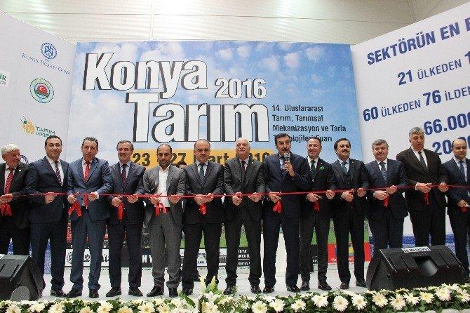 14. Uluslararası Konya Tarım Fuarı Açıldı