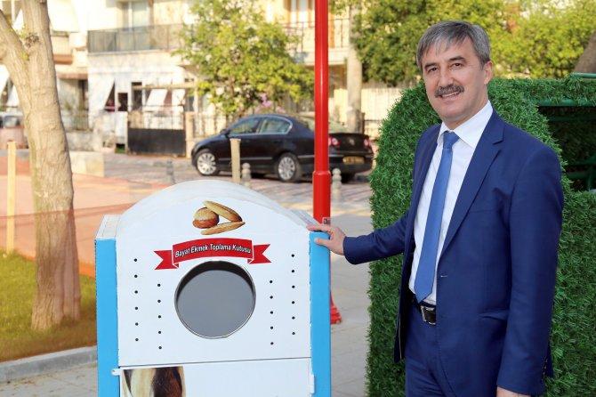Turgutlu'da bayat ekmekler, hayvanların karnını doyuracak