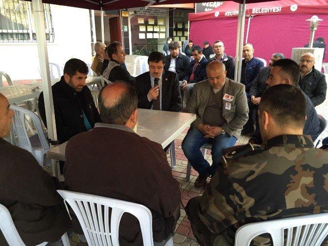 AK Parti Yozgat Milletvekili Yusuf Başer Ankara'da Şehit Ailesini Ziyaret Etti