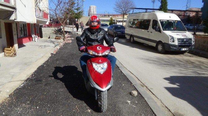 Yozgat'ta Motosiklet Sürücüleri İçin Airbag'li Yelek Üretildi