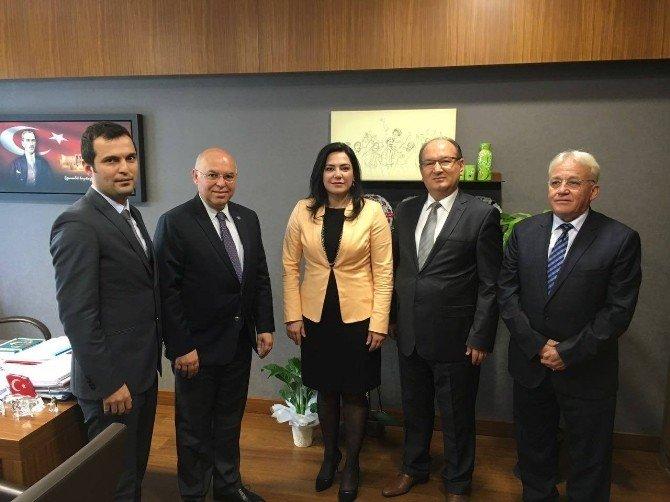 Süleymanpaşa'nın Geleceği İçin Ankara'da Bir Araya Geldiler