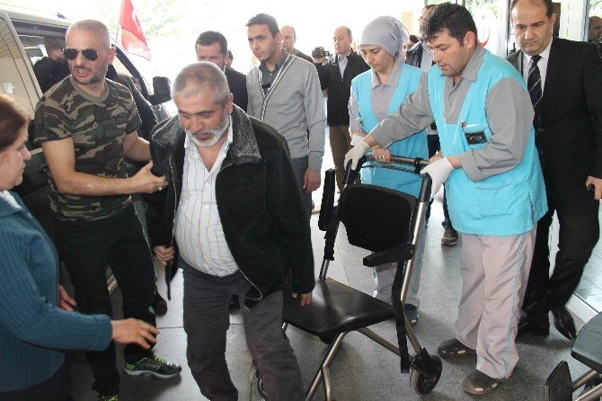 Türkmen Yaralılar Bolu'ya Getirildi