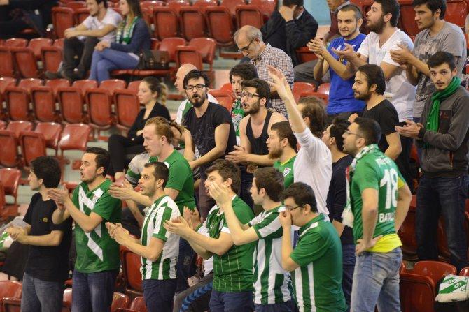 Bursaspor namağlup 2. Lig'e çıktı