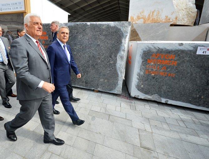 Dünyanın en büyük üçüncü mermer fuarı MARBLE, 1103 katılımcıyla açıldı