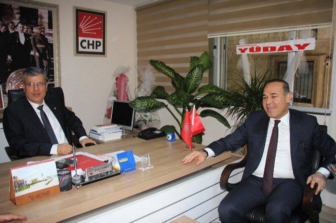 Sözlü'den CHP'ye Sürpriz Ziyaret