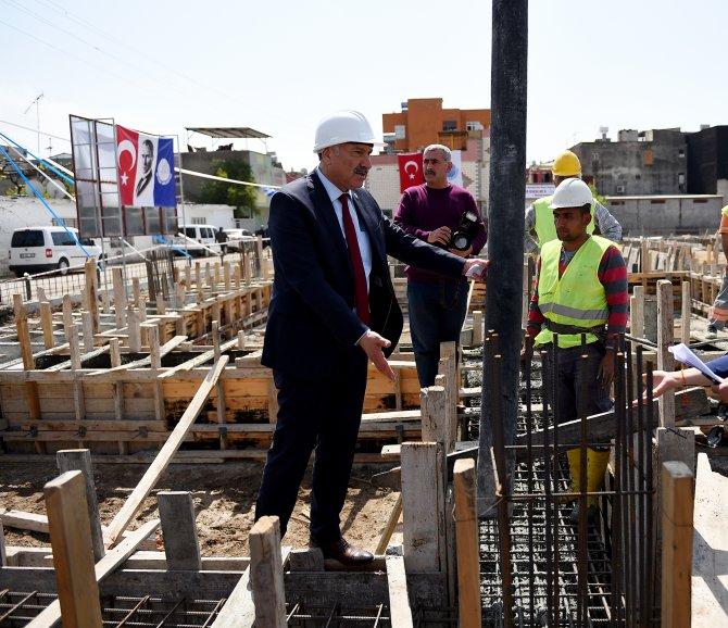 Seyhan'da 10 branşta spor yapılabilecek kompleksin temeli atıldı