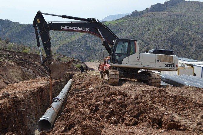 Haydaran İçme Suyu Projesinde İlk Kaynak Vuruldu