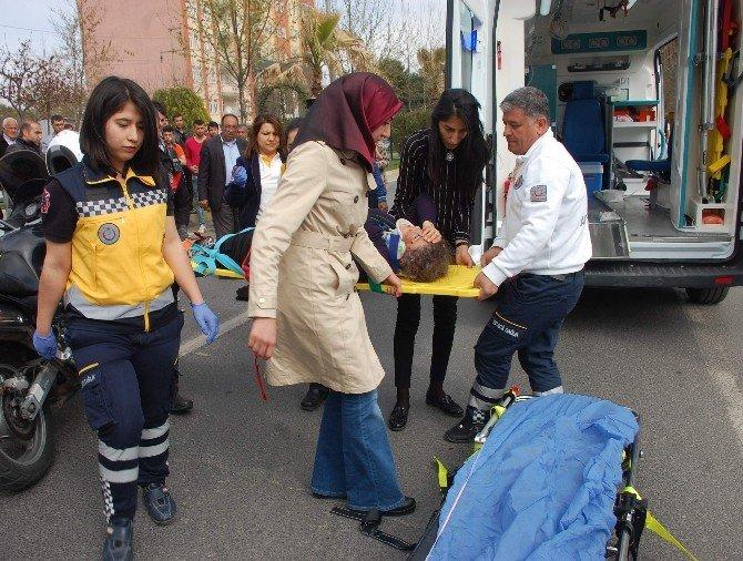 Adıyaman'da Trafik Kazası: 1 Ağır Yaralı