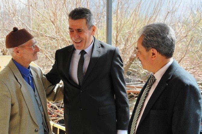 Kaymakam Sezgin Ve Başkan Akkaya'dan Ziyaret
