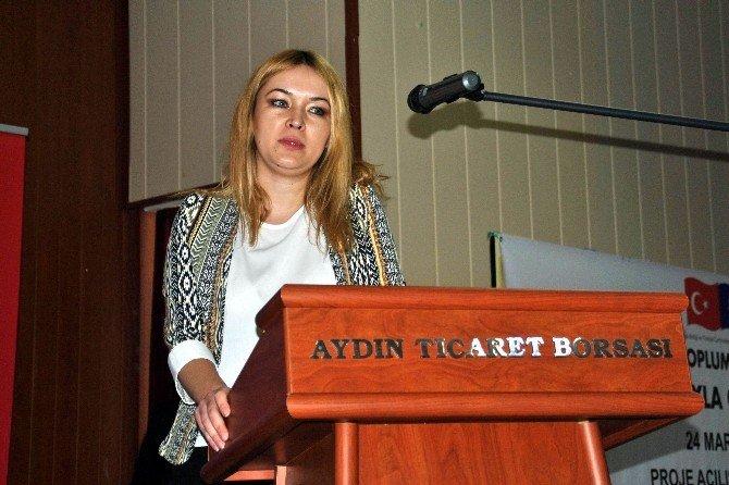 Aydın'da AB Boyutuyla Girişimcilik Gelişimi Projesi Toplantısı Yapıldı