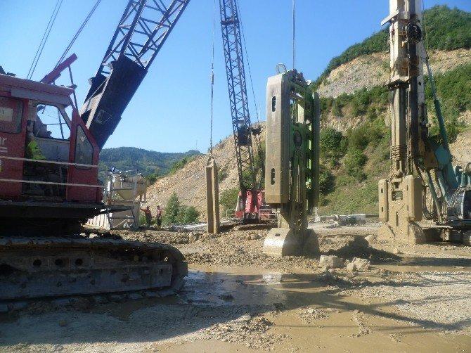 Kirazlıköprü Barajında Gövde İnşaatı Başladı