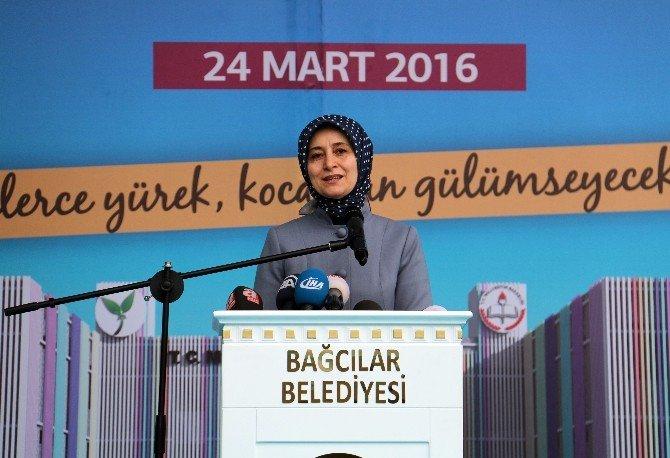 Sare Davutoğlu, Engelsiz Çocuklara Özel Eğitim Merkezinin Temel Atma Törenine Katıldı