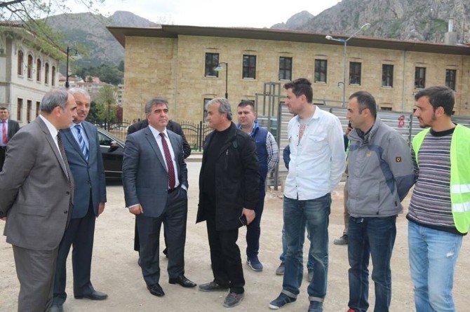 Amasyalılar Dağı Delip Yeşilırmak'ı Şişirecek