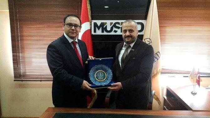 Bakka Genel Sekreterinden MÜSİAD'a Ziyaret