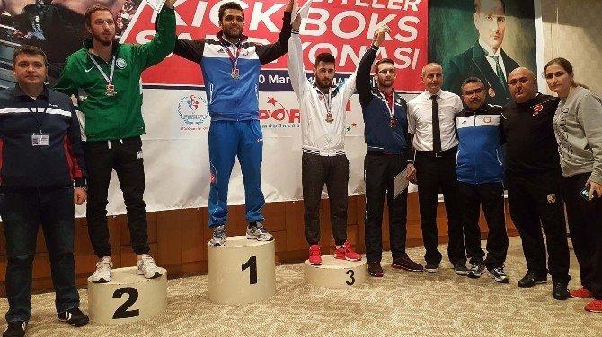 BEÜ Öğrencilerinin Kick-boks Başarısı