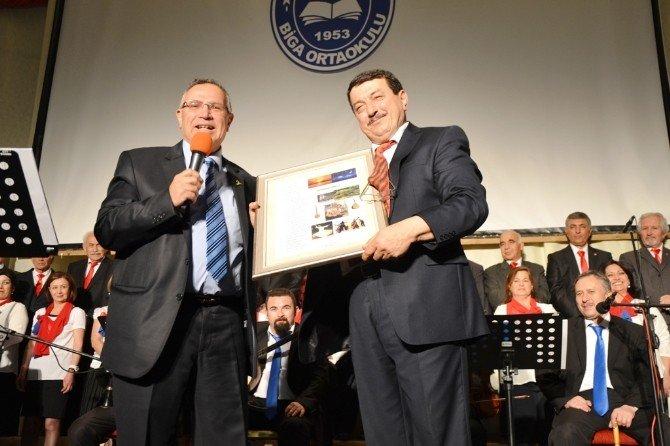 Biga'da Türk Sanat Müziği Korosu Konseri