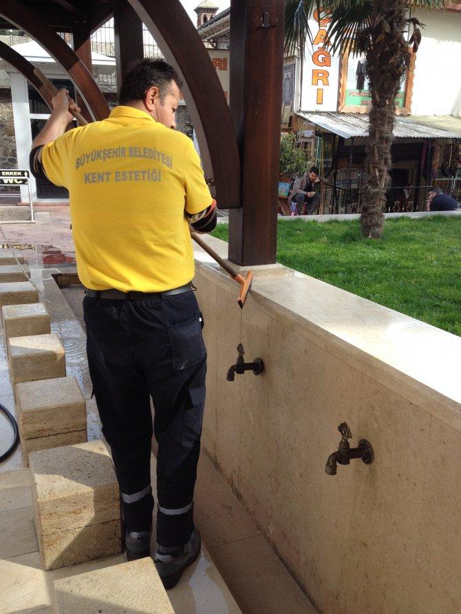 Bursa Büyükşehir'den bahar temizliği