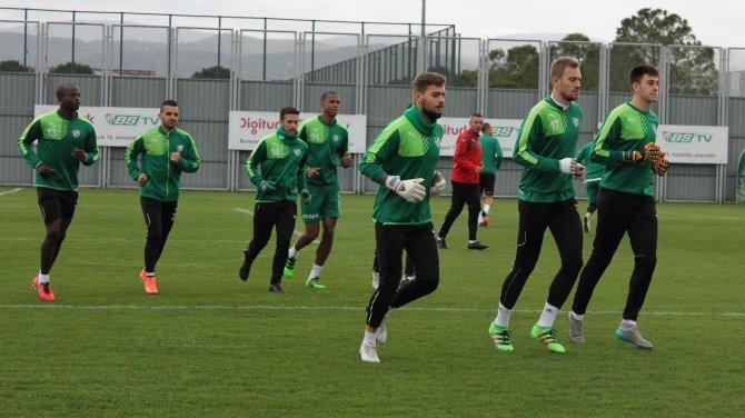Bursaspor, Sivasspor hazırlıklarına başladı