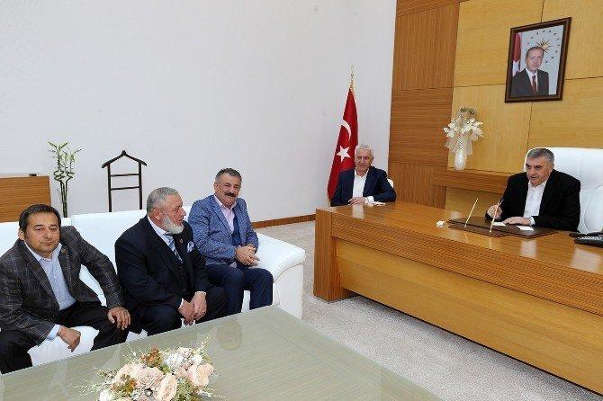 Karasu'dan Toçoğlu'na Ziyaret Ve Teşekkür