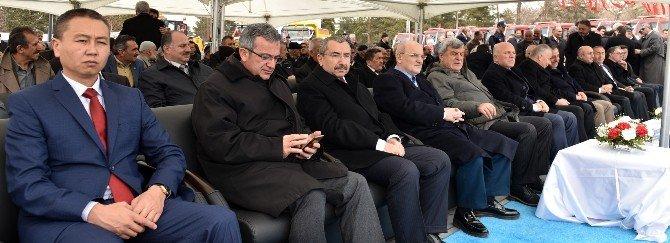 Erzurum Büyükşehir'in Dev Yatırımı: 6. Araç Filosu