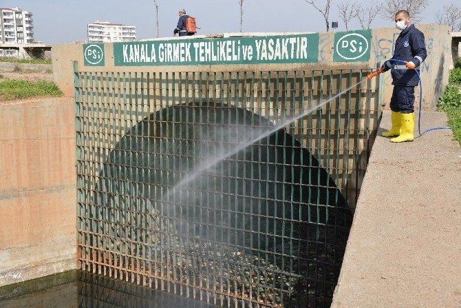 Diyarbakır'da İlaçlama Çalışmaları Başladı