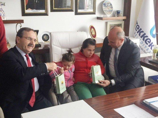 Down Sendromlu Çocuklardan Toğar'a Ziyaret