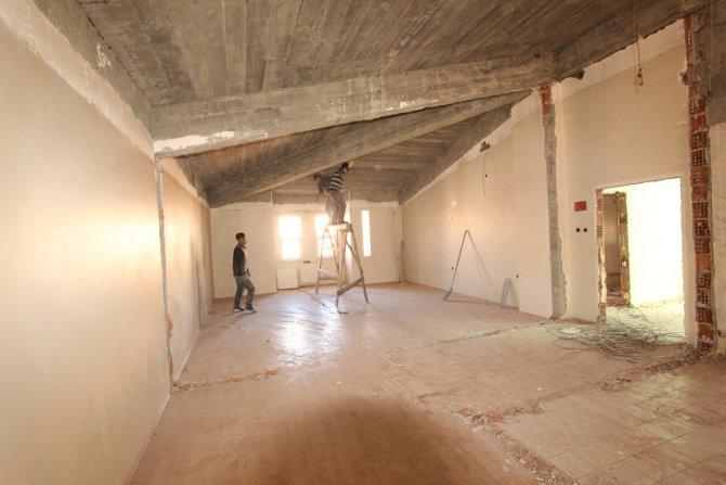 Ilıca termal tesislerinin otel kısmı yenileniyor