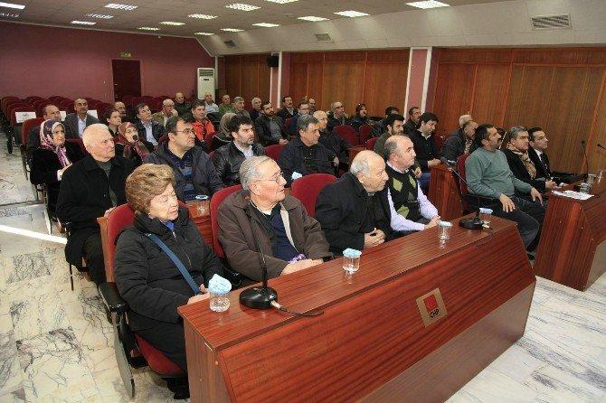 Kızılyer Toplantısında Sanayi Çarşısı Gündeme Geldi
