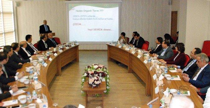 Bölgesel Kalkınmada Güç Birliği Platformu Şanlıurfa'da Toplandı