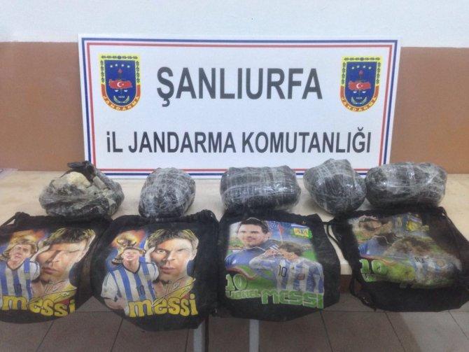 Ceylanpınar'da toprağa gömülü TNT bulundu