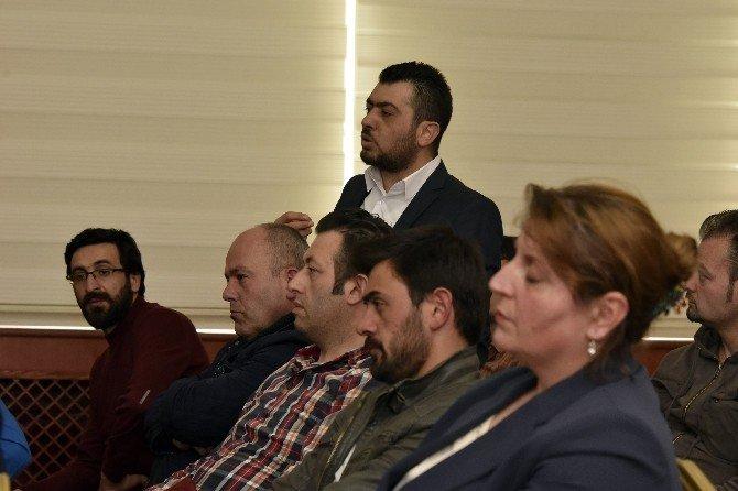 Gümüşhane Valisi Yücel Yavuz Lokanta Ve Kafeterya Esnafıyla Buluştu