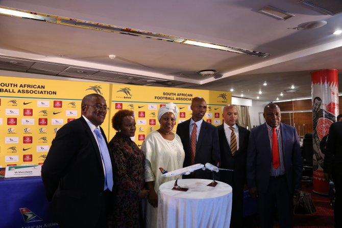 Güney Afrika Havayolları destek verdi, Milli Takım nefes aldı